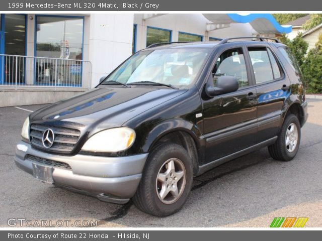 Black 1999 Mercedes Benz Ml 320 4matic Grey Interior
