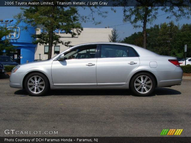 titanium metallic 2006 toyota avalon limited light gray interior vehicle. Black Bedroom Furniture Sets. Home Design Ideas
