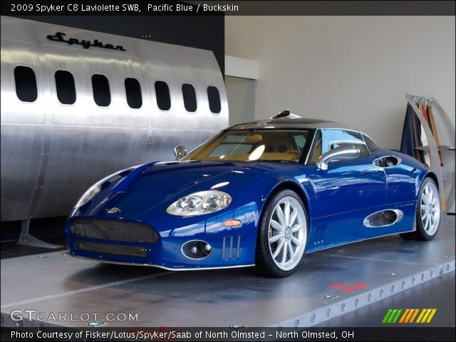 2009 Spyker C8 Laviolette SWB in Pacific Blue