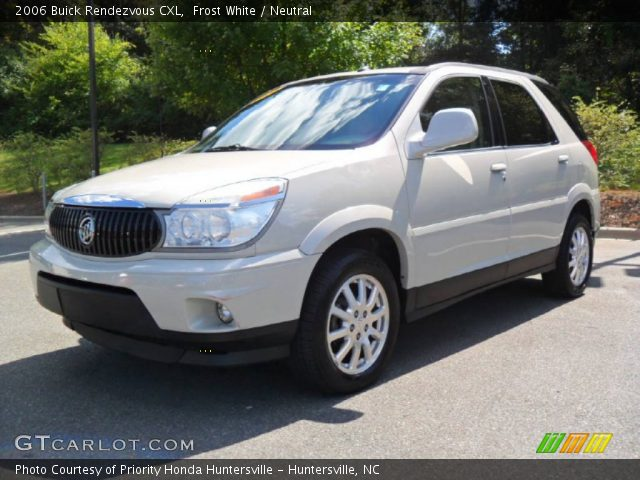 frost white 2006 buick rendezvous cxl neutral interior. Cars Review. Best American Auto & Cars Review