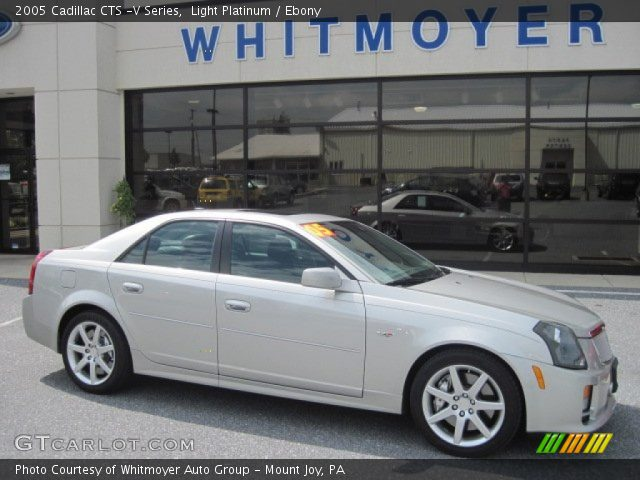 2005 cadillac cts v series in light platinum click to see large. Black Bedroom Furniture Sets. Home Design Ideas
