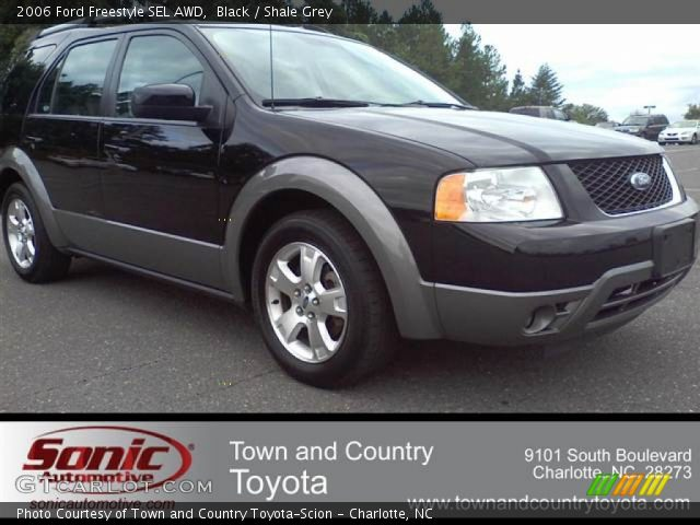 Black 2006 Ford Freestyle Sel Awd Shale Grey Interior Vehicle Archive 53981903