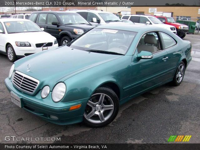 Mineral Green Metallic 2002 Mercedes Benz Clk 320 Coupe