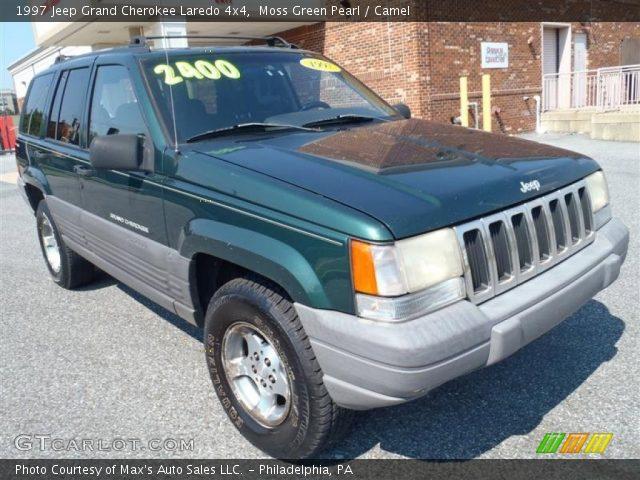Moss green pearl 1997 jeep grand cherokee laredo 4x4 - 1997 jeep grand cherokee interior ...