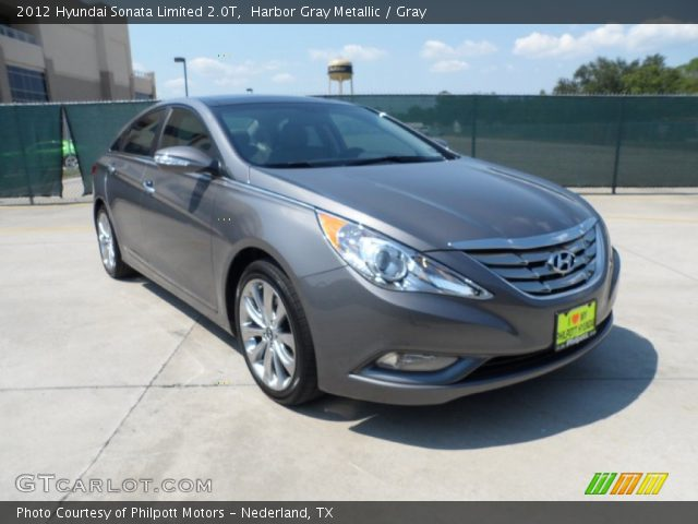 harbor gray metallic 2012 hyundai sonata limited 2 0t gray interior vehicle. Black Bedroom Furniture Sets. Home Design Ideas
