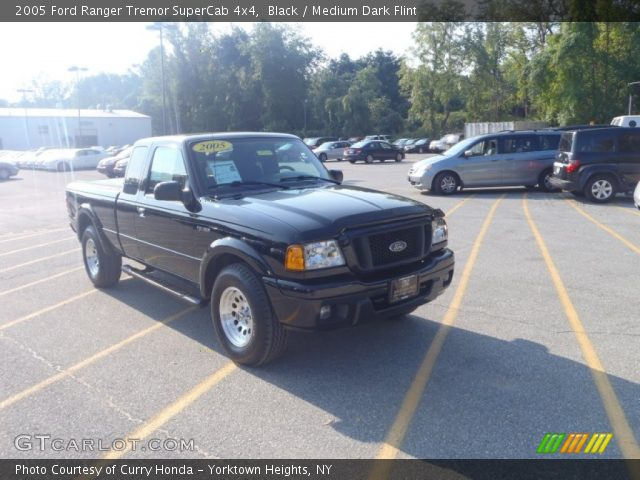 black 2005 ford ranger tremor supercab 4x4 medium dark. Black Bedroom Furniture Sets. Home Design Ideas