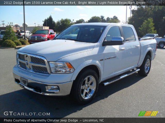 2012 Dodge Ram 1500 Sport White 2012 Dodge Ram 1500 Laramie