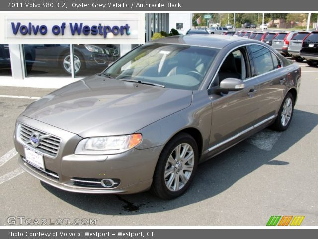 oyster grey metallic 2011 volvo s80 3 2 anthracite. Black Bedroom Furniture Sets. Home Design Ideas