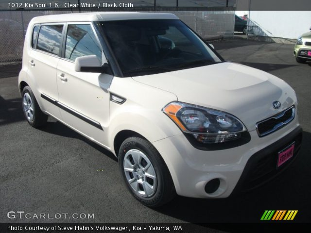Clear white 2012 kia soul 1 6 black cloth interior vehicle archive 54202765 2012 kia soul exterior colors