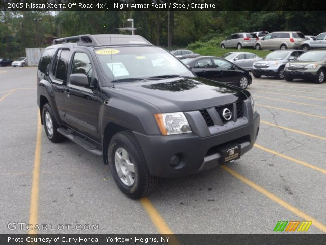 night armor pearl 2005 nissan xterra off road 4x4. Black Bedroom Furniture Sets. Home Design Ideas