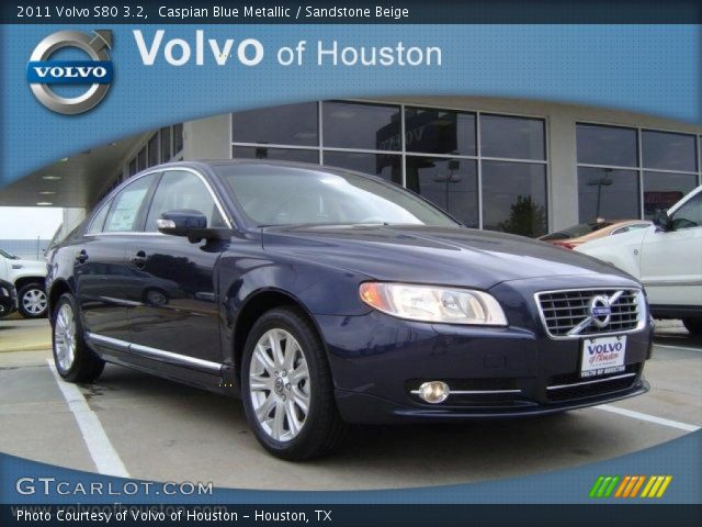 caspian blue metallic 2011 volvo s80 3 2 sandstone. Black Bedroom Furniture Sets. Home Design Ideas