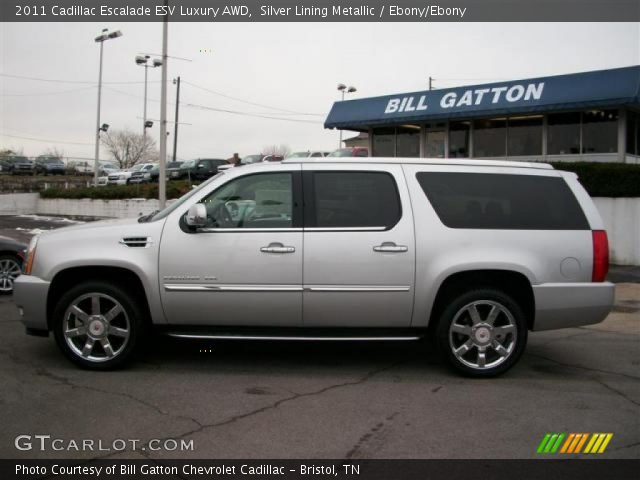 2011 Cadillac Escalade ESV Luxury AWD in Silver Lining Metallic