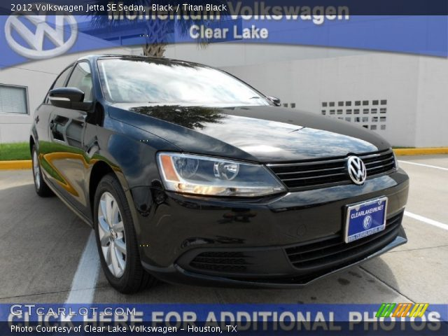 2012 Volkswagen Jetta SE Sedan in Black