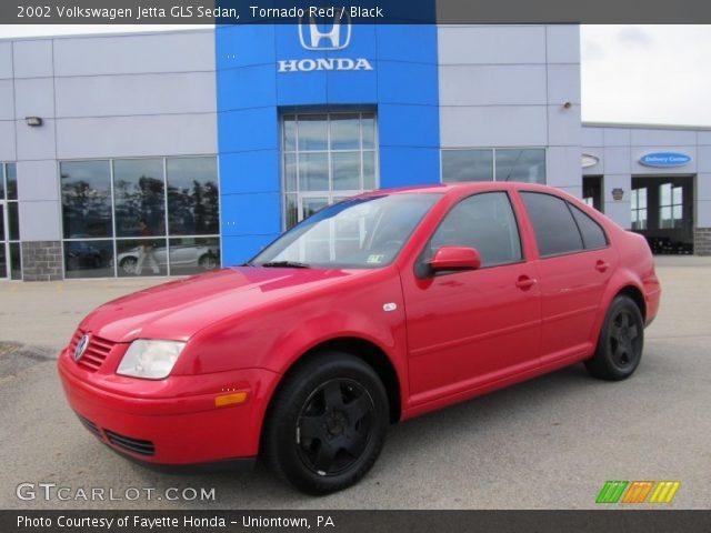tornado red  volkswagen jetta gls sedan black interior gtcarlotcom vehicle archive