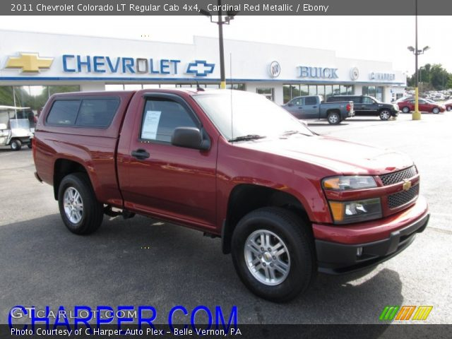 cardinal red metallic 2011 chevrolet colorado lt regular. Black Bedroom Furniture Sets. Home Design Ideas