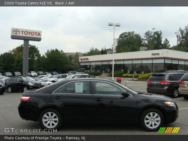 black 2009 toyota camry xle v6 ash interior vehicle archive 54379045. Black Bedroom Furniture Sets. Home Design Ideas