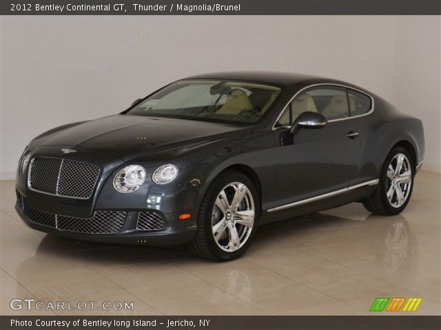 2012 Bentley Continental GT  in Thunder