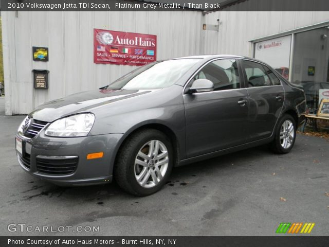 2010 Volkswagen Jetta TDI Sedan in Platinum Grey Metallic