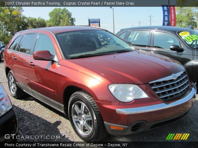 cognac crystal pearl 2007 chrysler pacifica touring. Black Bedroom Furniture Sets. Home Design Ideas