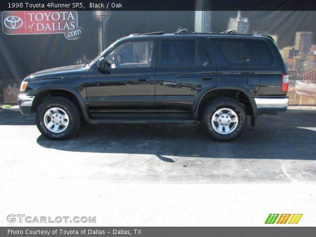 Black 1998 Toyota 4runner Sr5 Oak Interior Vehicle Archive 5431307