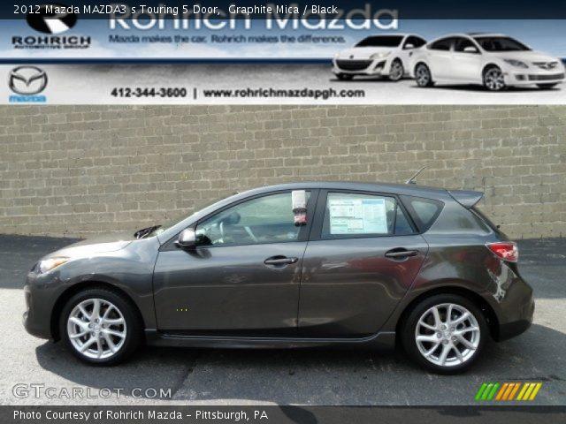 2012 Mazda MAZDA3 s Touring 5 Door in Graphite Mica