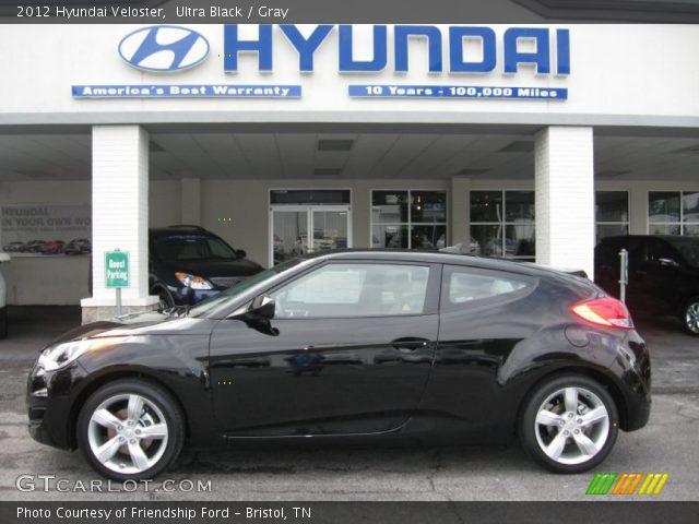 2012 Hyundai Veloster  in Ultra Black