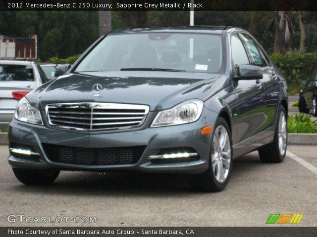2012 Mercedes-Benz C 250 Luxury in Sapphire Grey Metallic