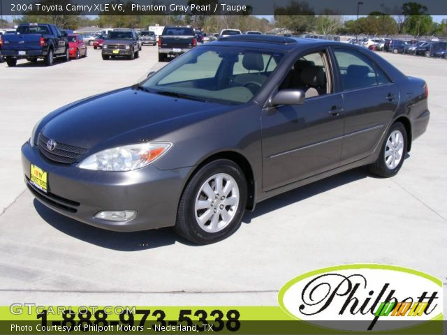 phantom gray pearl 2004 toyota camry xle v6 taupe interior vehicle archive. Black Bedroom Furniture Sets. Home Design Ideas