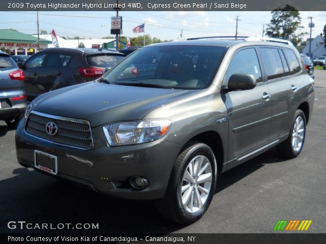 cypress green pearl 2009 toyota highlander hybrid. Black Bedroom Furniture Sets. Home Design Ideas