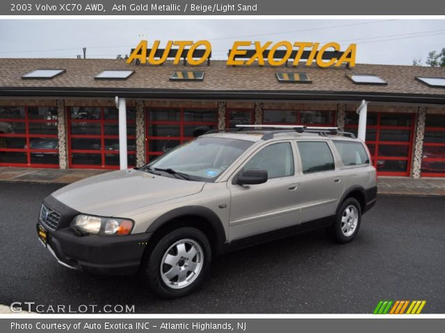 Ash Gold Metallic - 2003 Volvo XC70 AWD - Beige/Light Sand Interior ...