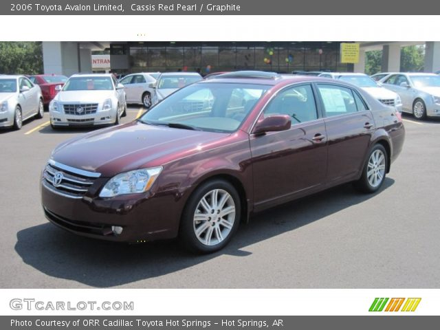 cassis red pearl 2006 toyota avalon limited graphite interior vehicle. Black Bedroom Furniture Sets. Home Design Ideas
