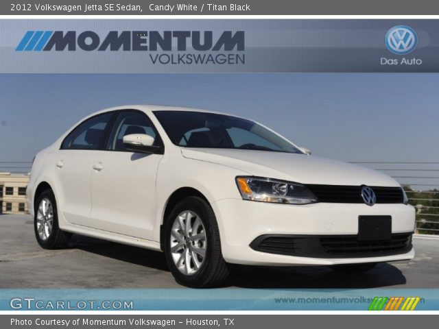 2012 Volkswagen Jetta SE Sedan in Candy White