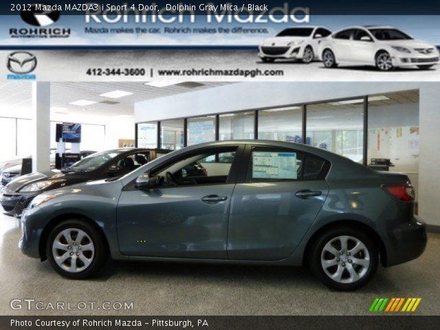 2012 Mazda MAZDA3 i Sport 4 Door in Dolphin Gray Mica