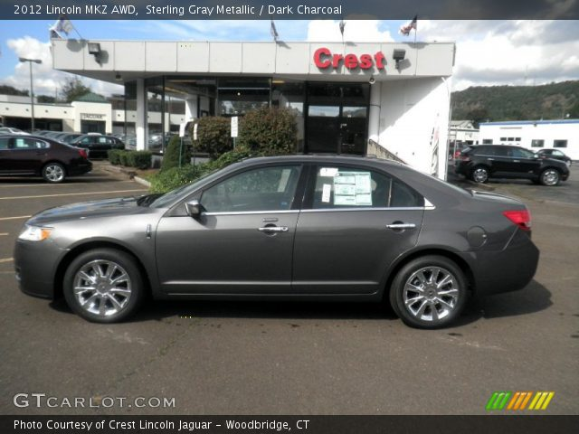 2012 Lincoln MKZ AWD in Sterling Gray Metallic