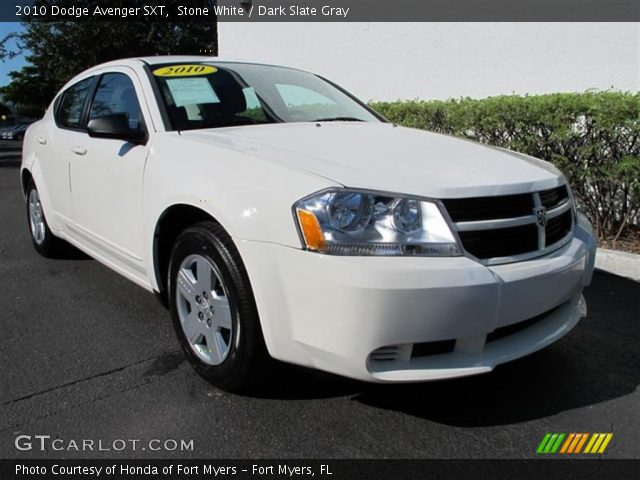 stone white 2010 dodge avenger sxt dark slate gray. Black Bedroom Furniture Sets. Home Design Ideas