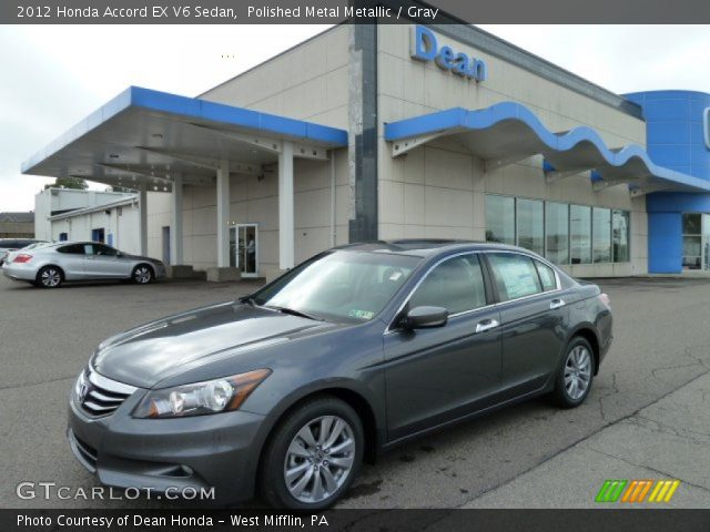 2012 Honda Accord EX V6 Sedan in Polished Metal Metallic