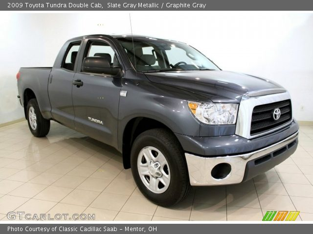 slate gray metallic 2009 toyota tundra double cab graphite gray interior. Black Bedroom Furniture Sets. Home Design Ideas