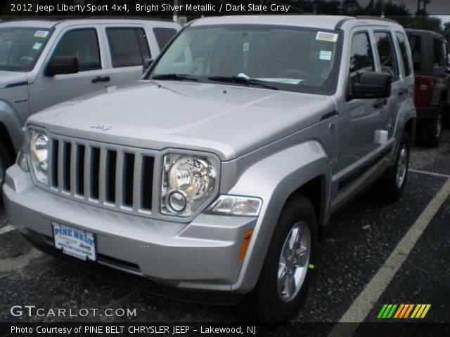bright silver metallic 2012 jeep liberty sport 4x4. Black Bedroom Furniture Sets. Home Design Ideas