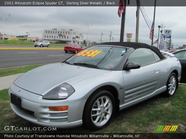 sterling silver metallic 2001 mitsubishi eclipse spyder. Black Bedroom Furniture Sets. Home Design Ideas