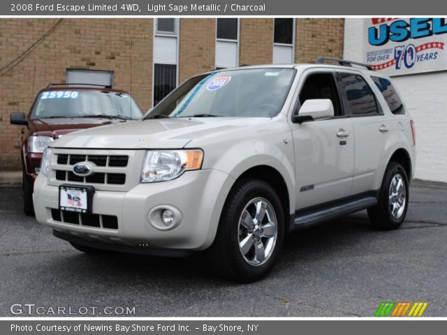 2012 Ford Escape For Sale >> Light Sage Metallic - 2008 Ford Escape Limited 4WD - Charcoal Interior | GTCarLot.com - Vehicle ...