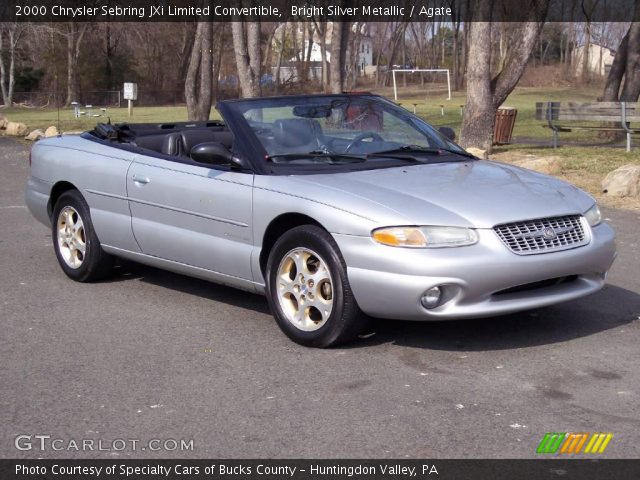 bright silver metallic 2000 chrysler sebring jxi limited. Black Bedroom Furniture Sets. Home Design Ideas