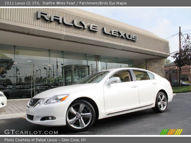 starfire white pearl 2011 lexus gs 350 parchment birds. Black Bedroom Furniture Sets. Home Design Ideas
