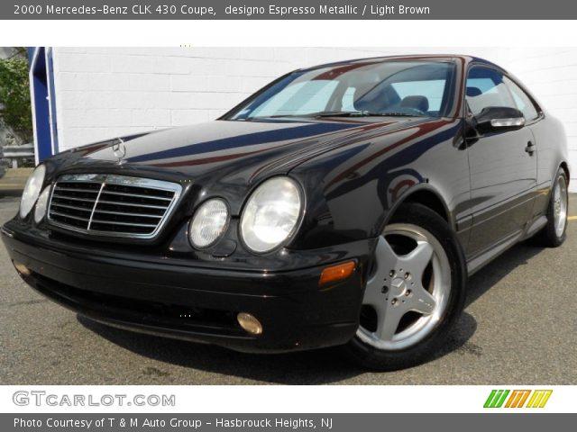2000 Mercedes-Benz CLK 430 Coupe in designo Espresso Metallic