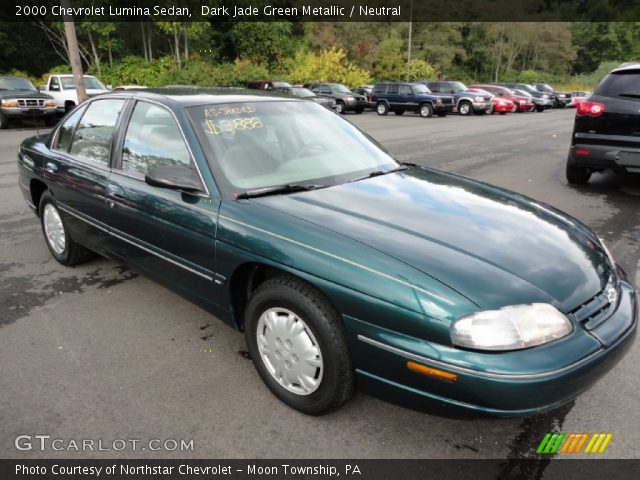 dark jade green metallic 2000 chevrolet lumina sedan. Black Bedroom Furniture Sets. Home Design Ideas
