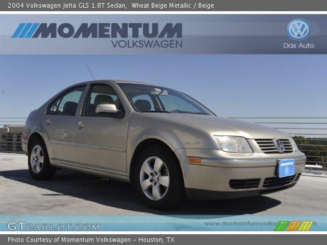wheat beige metallic 2004 volkswagen jetta gls 1 8t sedan beige interior. Black Bedroom Furniture Sets. Home Design Ideas