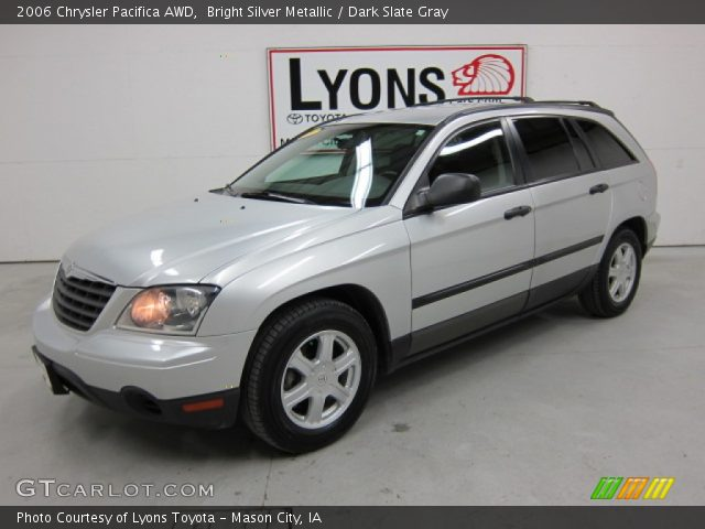 Bright Silver Metallic 2006 Chrysler Pacifica AWD with Dark Slate Gray ...
