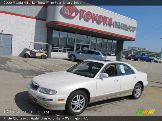 2000 Mazda Millenia in Snow White Pearl Mica. Click to see large photo ...