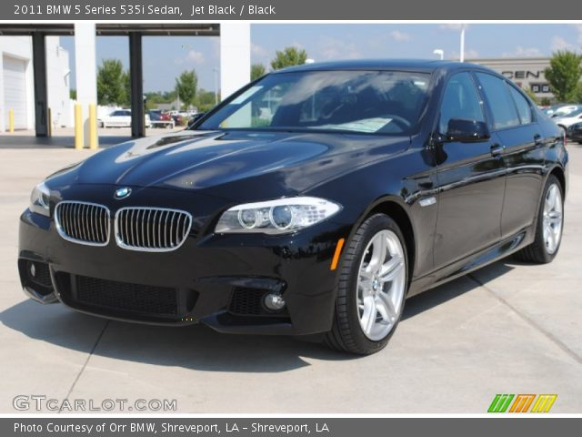 jet black 2011 bmw 5 series 535i sedan black interior vehicle archive 54913188. Black Bedroom Furniture Sets. Home Design Ideas