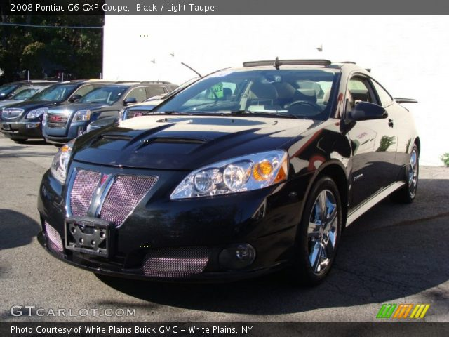 Black - 2008 Pontiac G6 GXP Coupe - Light Taupe Interior | GTCarLot ...