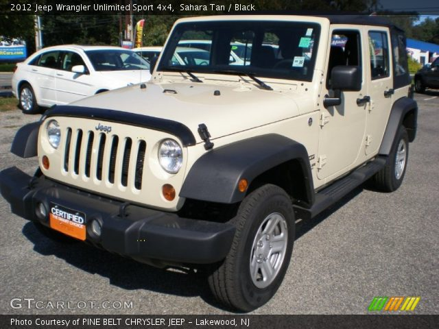 Sahara tan 2012 jeep wrangler unlimited sport 4x4 - 2012 jeep wrangler unlimited interior ...